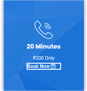 20 Minutes Audio Call Or Chat Therapy