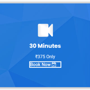 30 Minutes Video Call Therapy